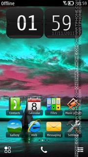 Nature 5801 theme screenshot