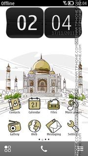 Taj Mahal 08 es el tema de pantalla