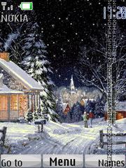 Winter Theme tema screenshot