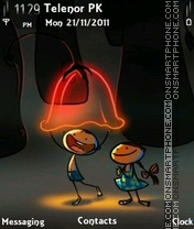 2 Kids theme screenshot
