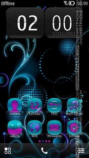 Neon Lights 02 es el tema de pantalla
