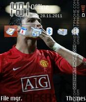 Скриншот темы Ronaldo