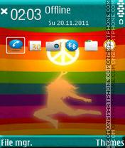 Скриншот темы Reaching Peace