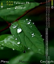 Leaf theme screenshot
