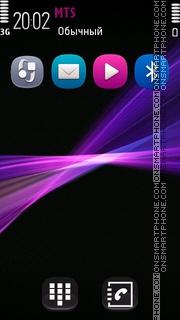 Evolve Pink tema screenshot