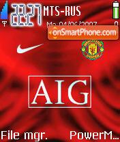 Man Utd Champs theme screenshot