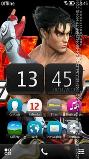 Tekken 08 theme screenshot