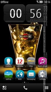 Martini 03 theme screenshot