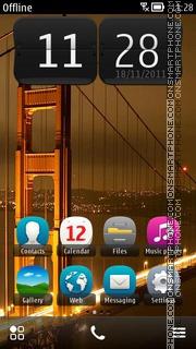 Golden Gate Bridge 01 theme screenshot