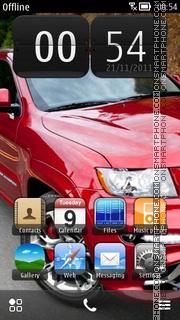 Jeep Grand Cherokee SRT8 Front Side theme screenshot