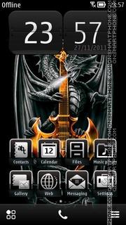 Dragons Nokia theme screenshot