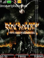 Sonic Syndicate tema screenshot