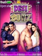 Desi Boyz theme screenshot