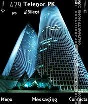 Скриншот темы City Night