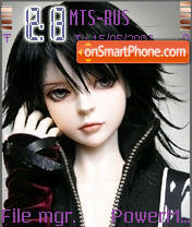 Camine Dream Of Doll theme screenshot
