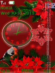 Holiday colors tema screenshot