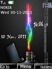 Скриншот темы 3d Lighter