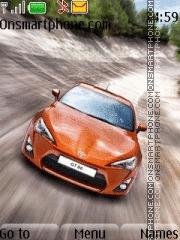 Toyota Gt theme screenshot