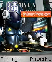 Tom 2040 theme screenshot