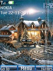 Winter Night 05 theme screenshot