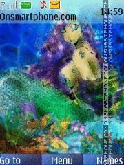 Mermaid tema screenshot