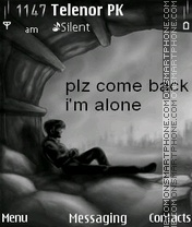 Come back theme screenshot