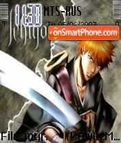 Kurosaki Ichigo theme screenshot