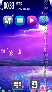 Purple 03 theme screenshot