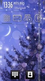 Winter2 tema screenshot