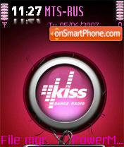 KissFM theme screenshot