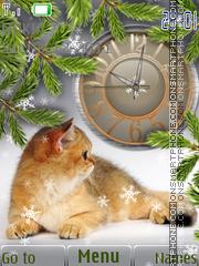 Скриншот темы Ginger Cat
