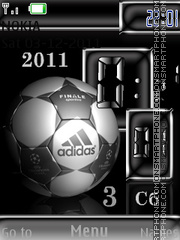 Football theme screenshot