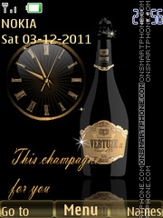 Champagne theme screenshot