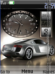 Capture d'écran Audi thème