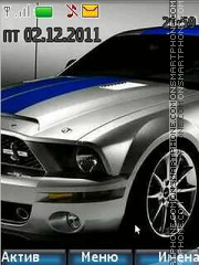 Ford Shelby gt 500 Theme-Screenshot