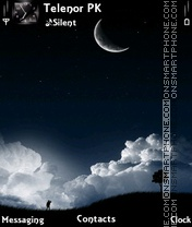 Moon light theme screenshot