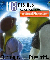 Shrek 03 theme screenshot