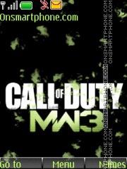 Скриншот темы Call Of Duty Mw3 02
