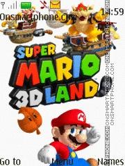Super Mario Land Games theme screenshot