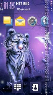 Fairyland Tiger tema screenshot