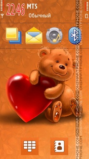 Teddy Bear V2 theme screenshot