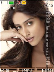 Ileana D'Cruz tema screenshot