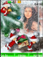 Kajol Merry Christmas tema screenshot