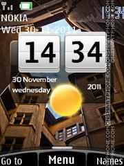 Htc View Clock theme screenshot