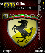 Ferrari 607 Theme-Screenshot