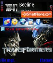 Transformers 02 es el tema de pantalla