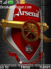 Arsenal Club theme screenshot