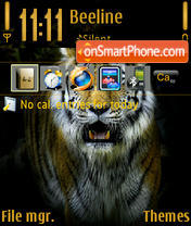 Tiger 04 Theme-Screenshot