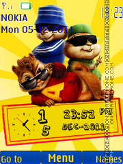 Chipmunks 03 theme screenshot
