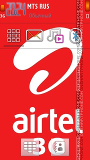 Latest Airtel 3g theme screenshot